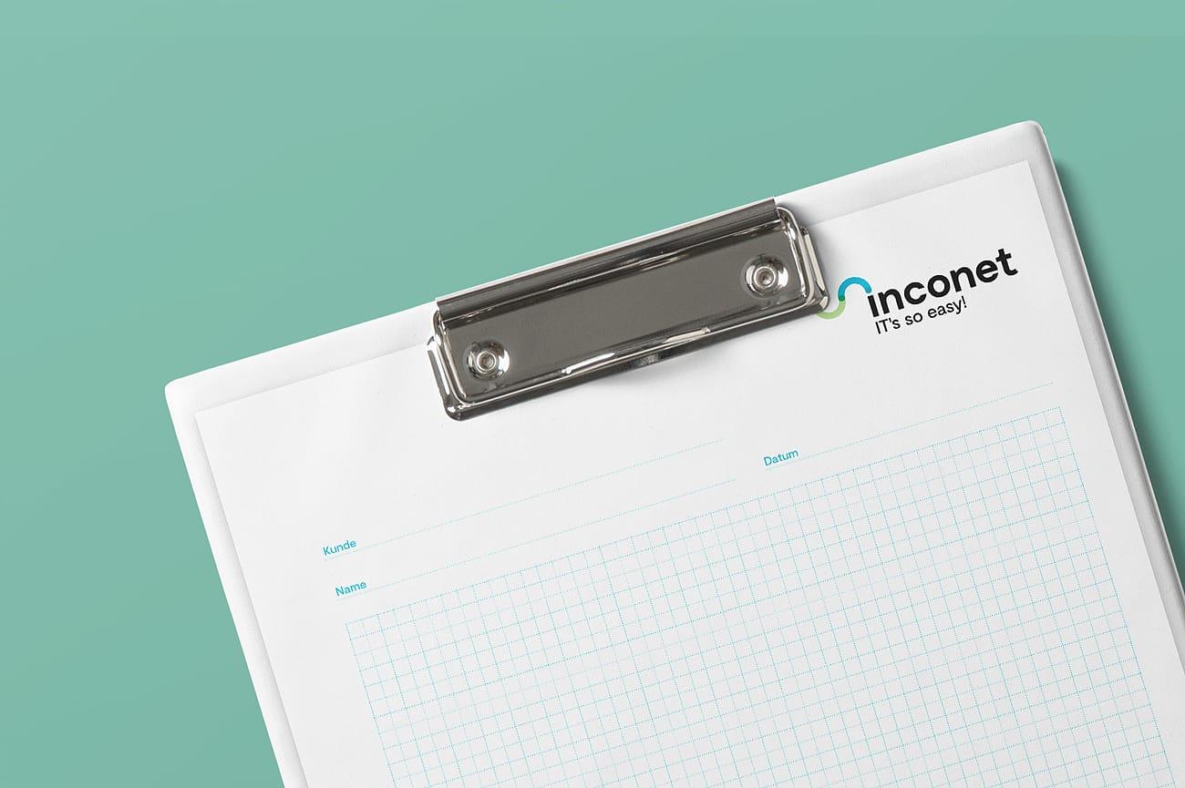 Papierblock inconet technology gmbh
