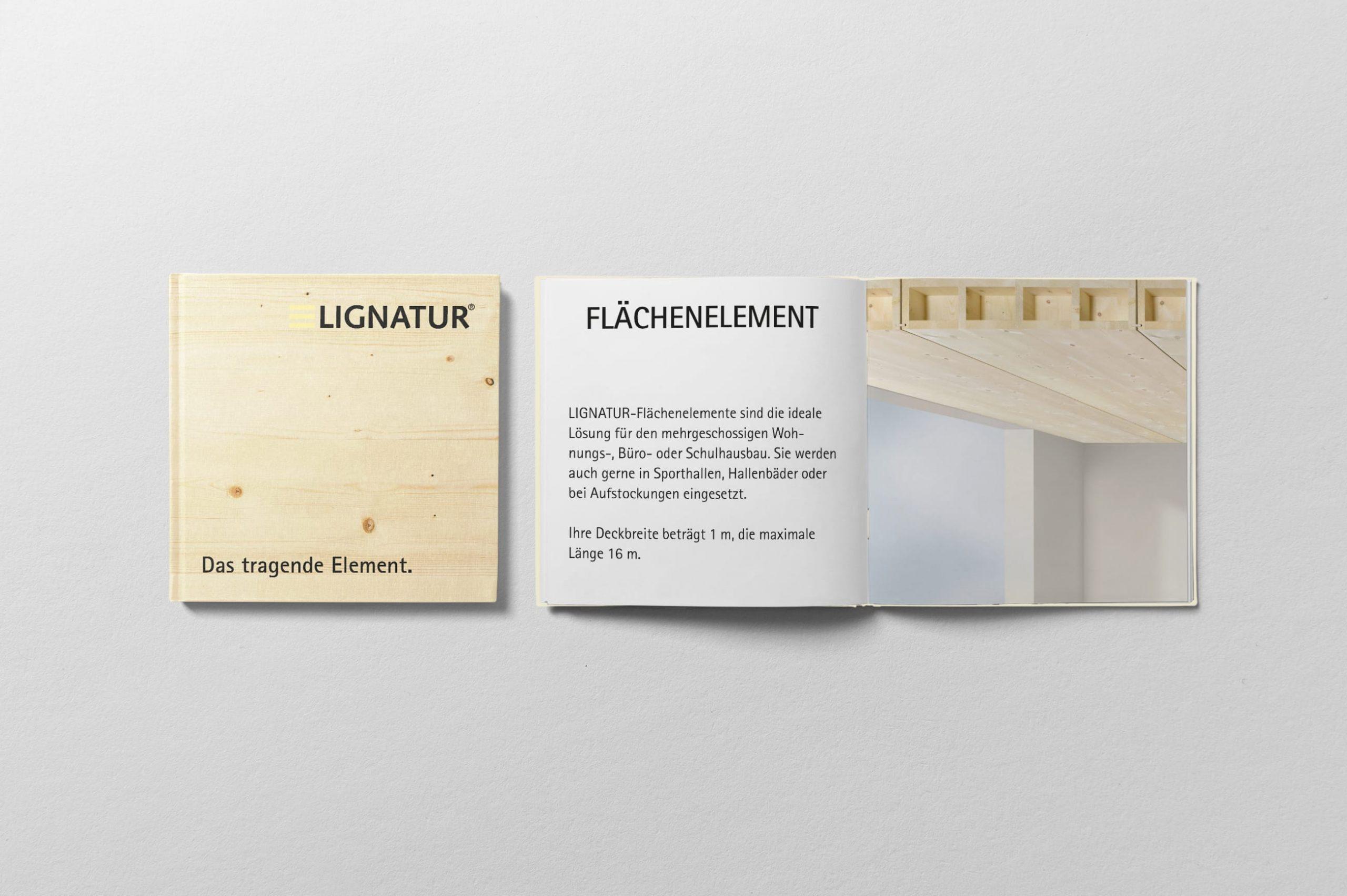 Booklet Lignatur AG
