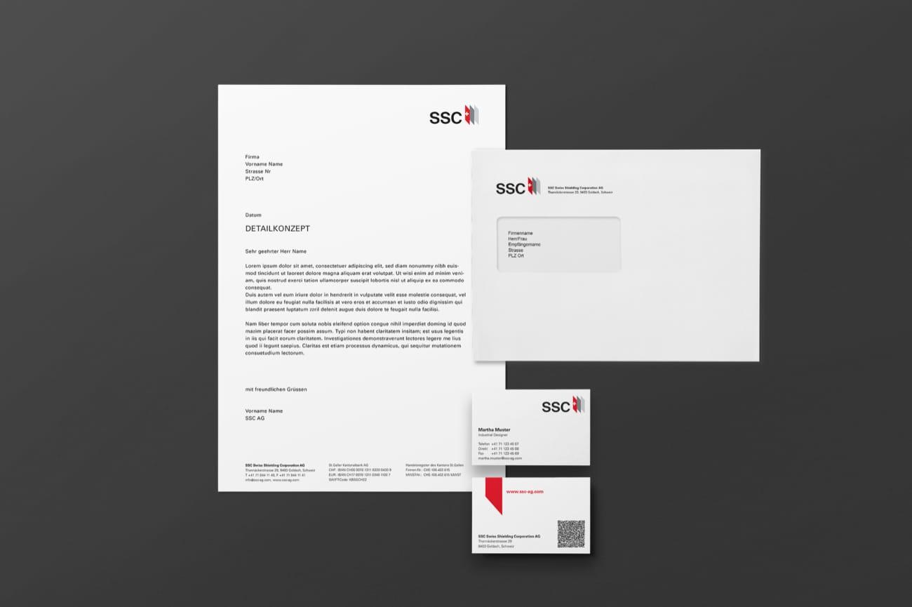 Briefschaften SSC Swiss Shielding Corporation AG