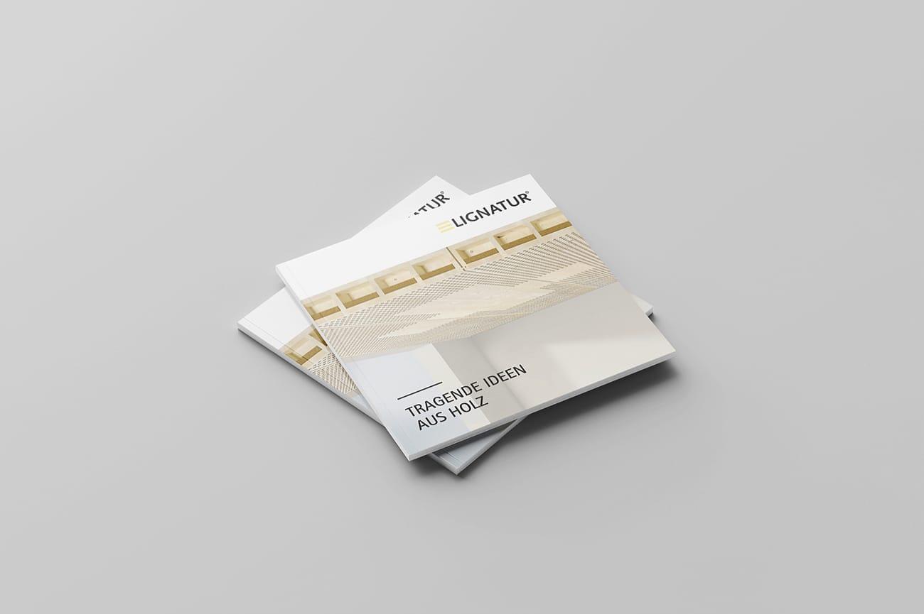 Imagebroschüre Lignatur AG