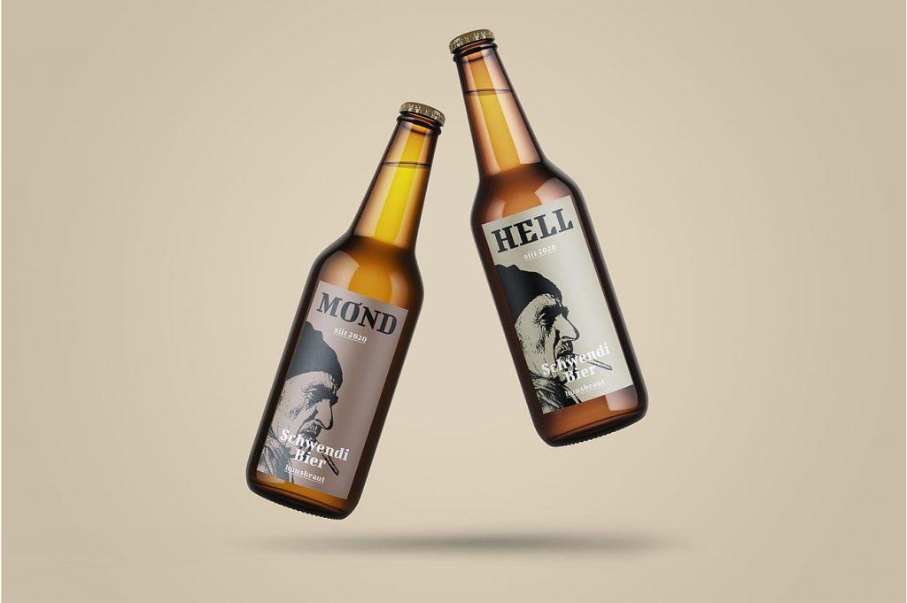 Packaging Schwendi Bier