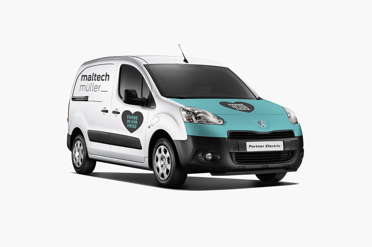 Fahrzeugbeschriftung Maltech Müller AG