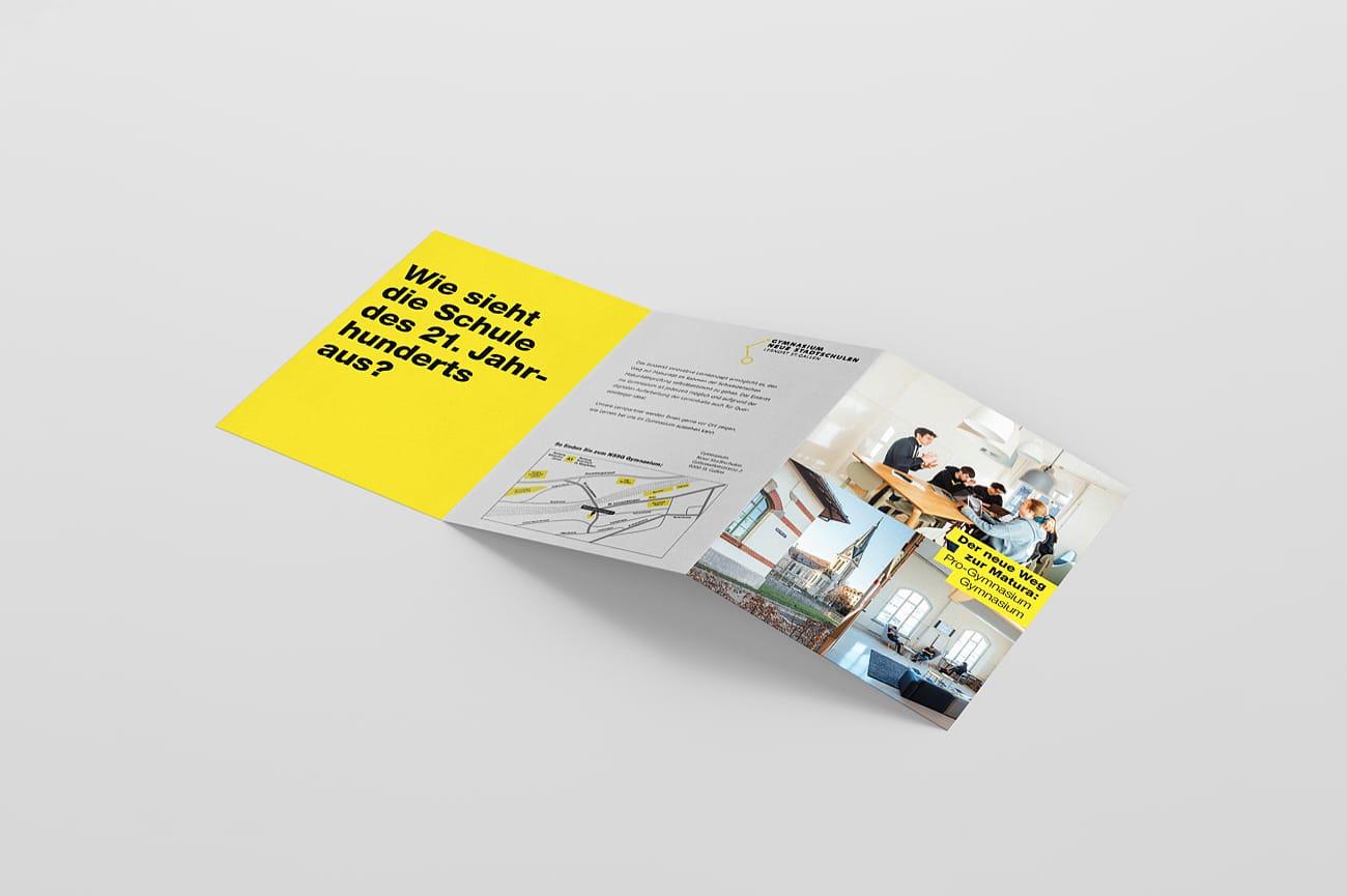 Info-Flyer Neue Stadtschulen AG