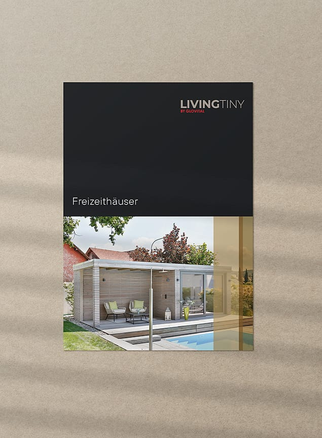 Produktblatt Freizeithäuser LivingTiny Glovital AG