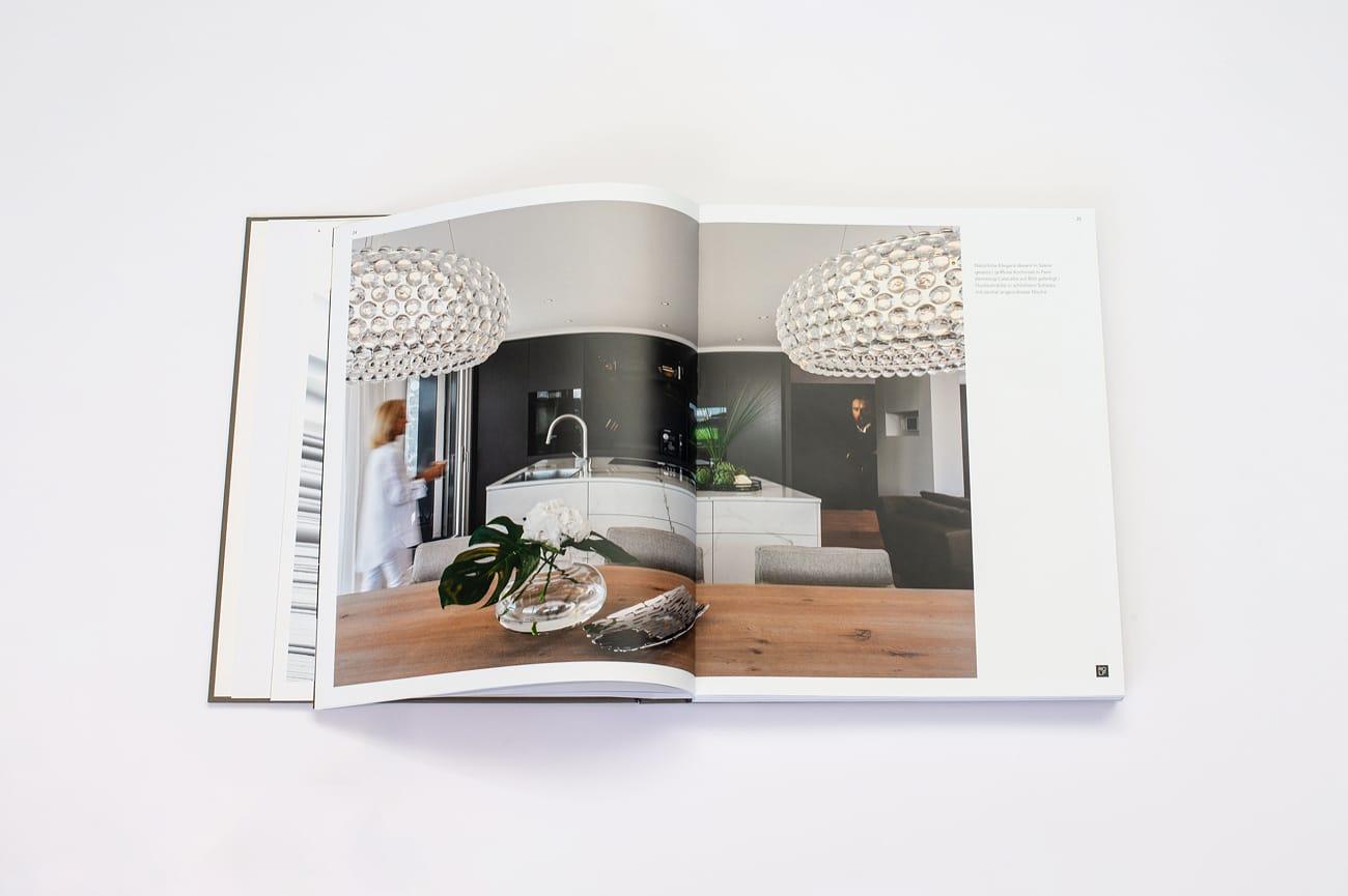 Doppelseite Imagebuch Rolf Schubiger Küchen