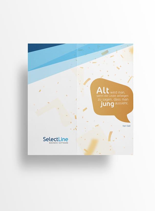 Geburtstagskarte SelectLine Software AG