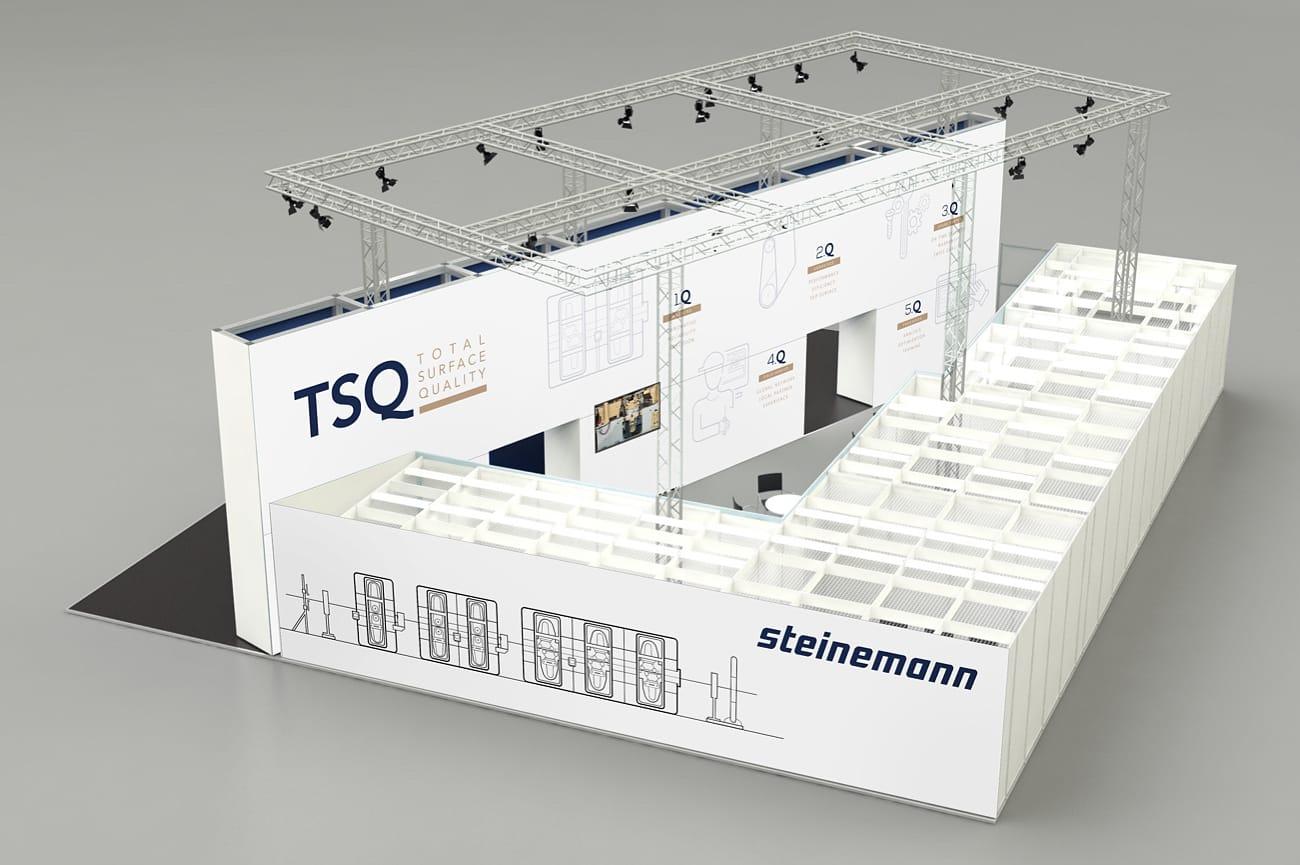 Messestand TSQ Steinemann Technology AG