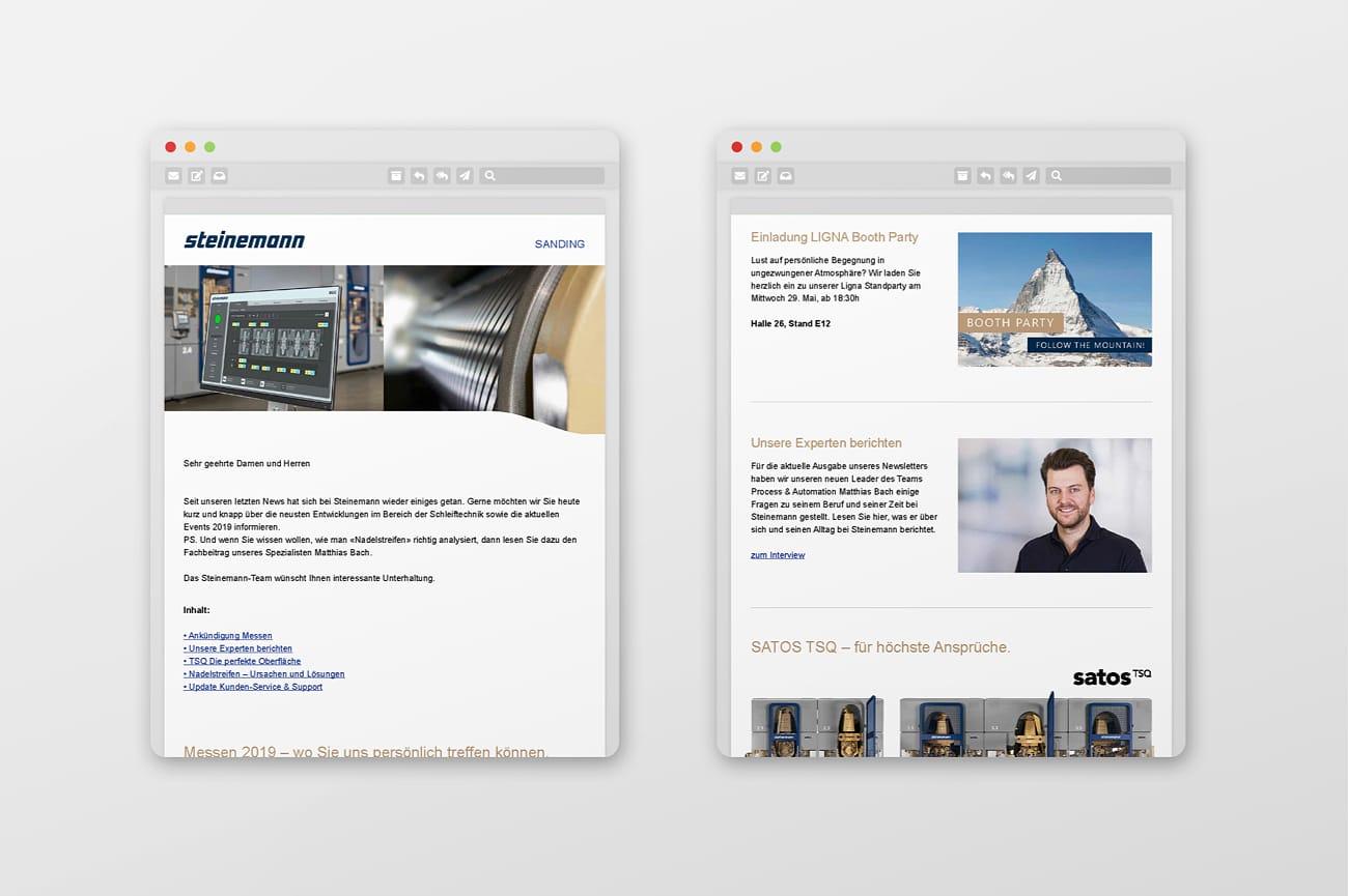 Newsletter Steinemann Technology AG