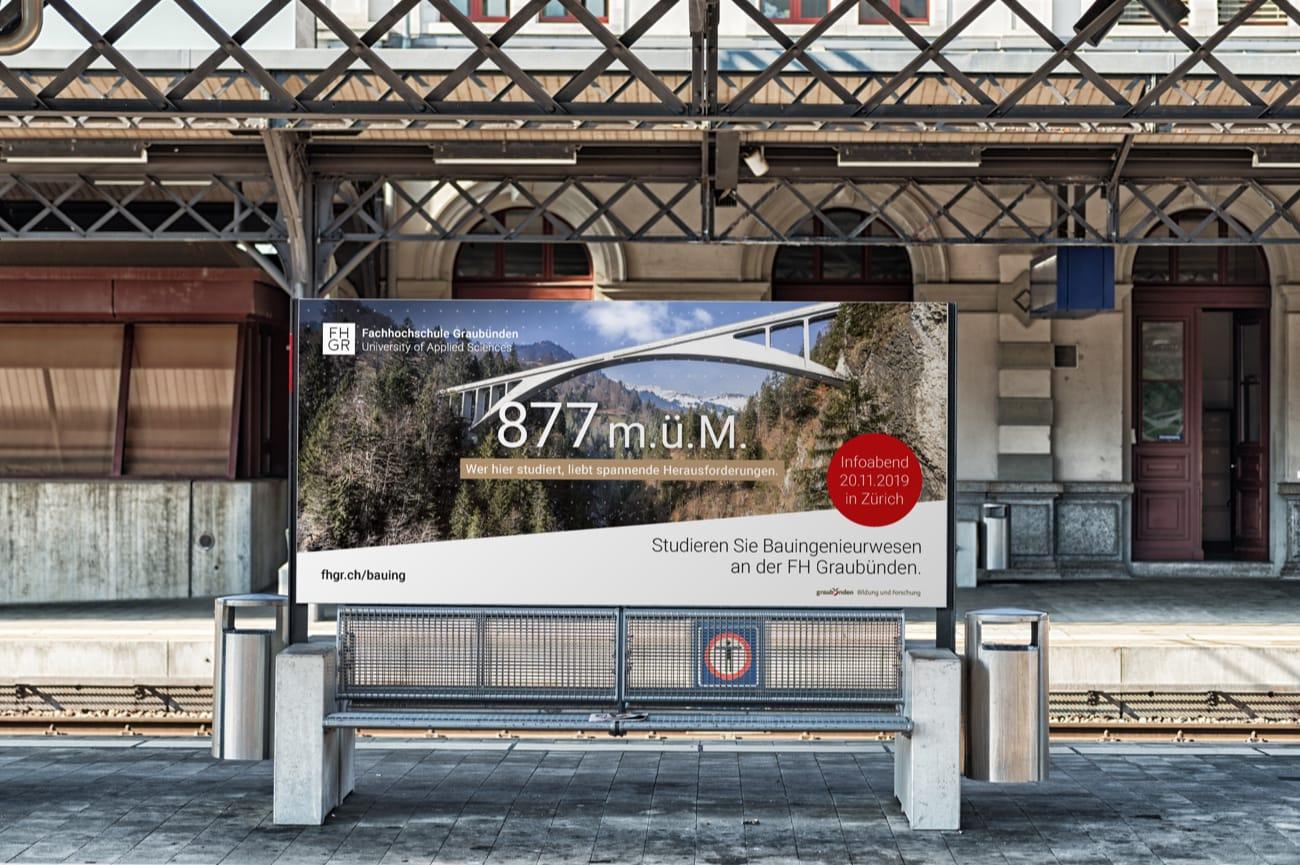 F12 Plakat Fachhochschule Graubünden