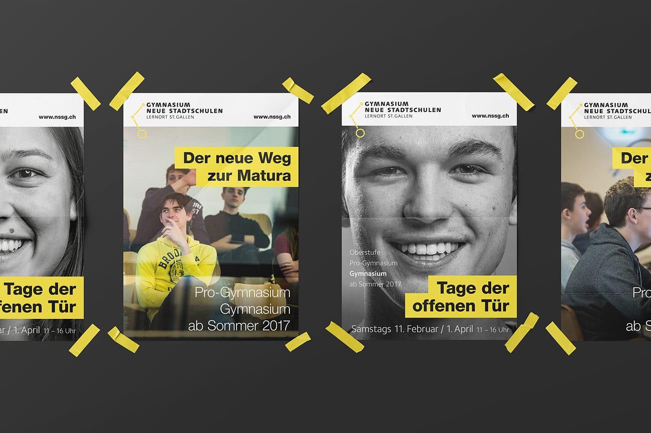 Plakate Neue Stadtschulen AG