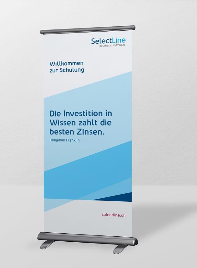 Roll-Up SelectLine Software AG