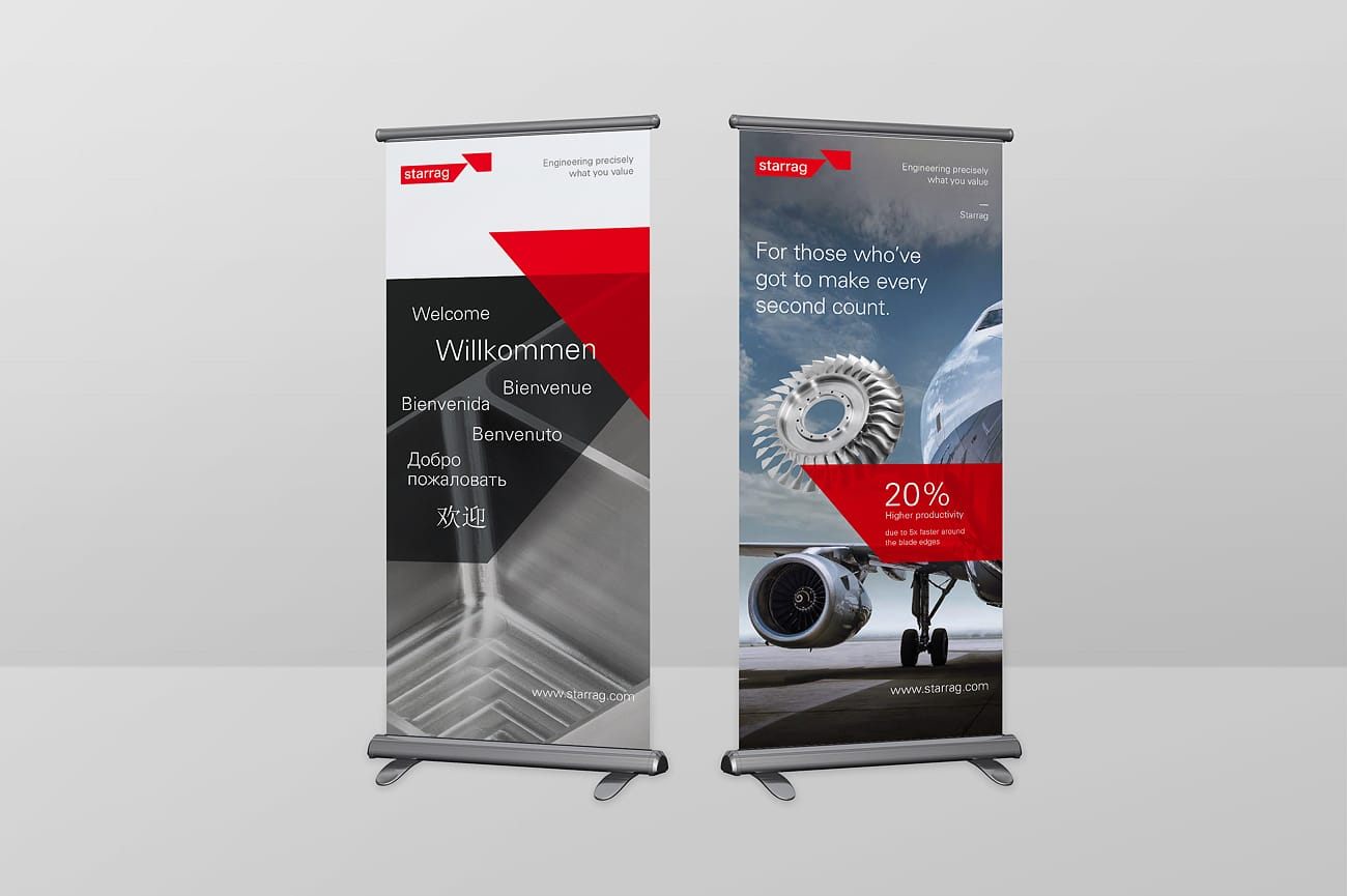 Roll-Up Banner Starrag AG
