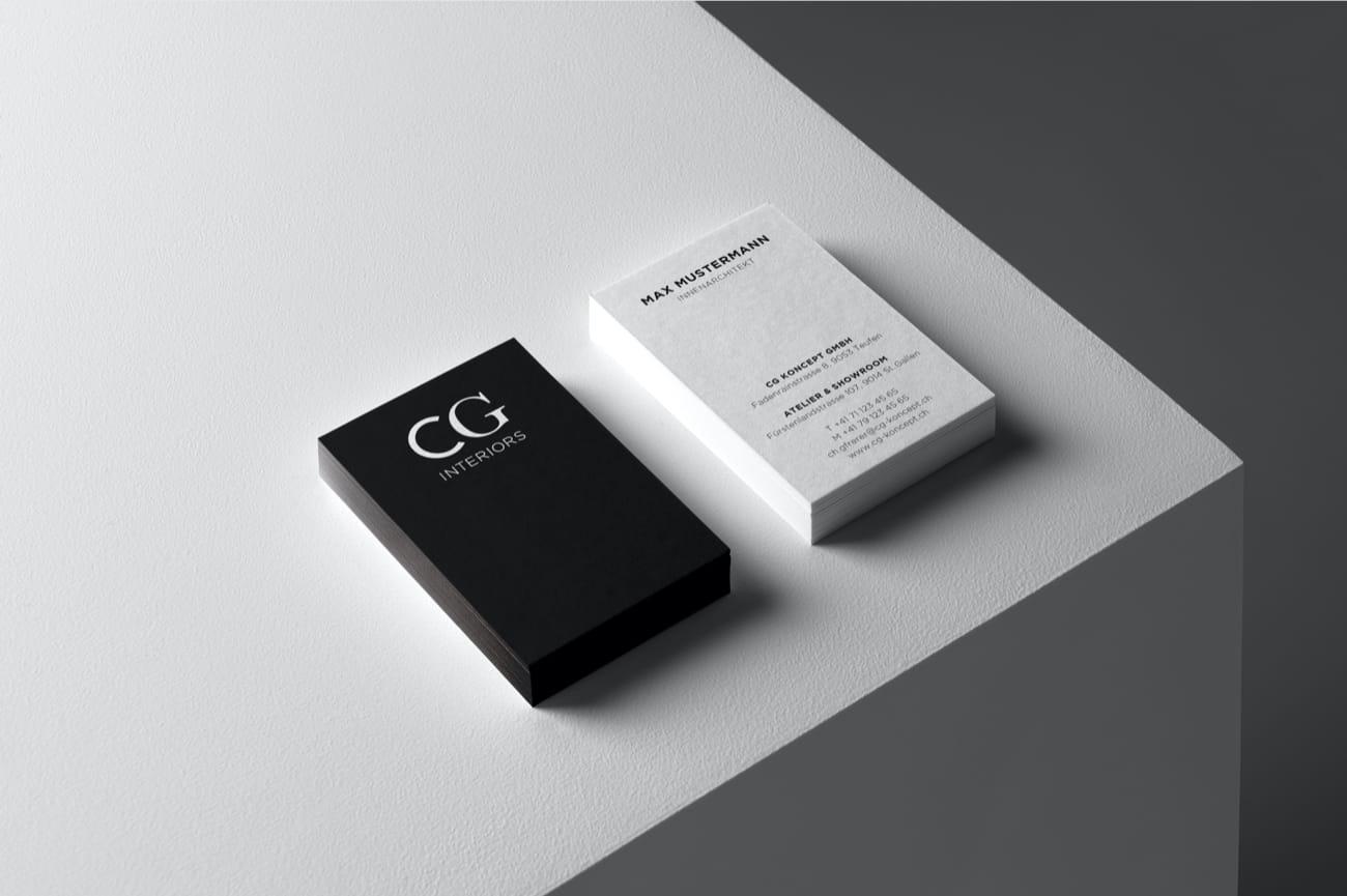 Visitenkarte CG Interiors