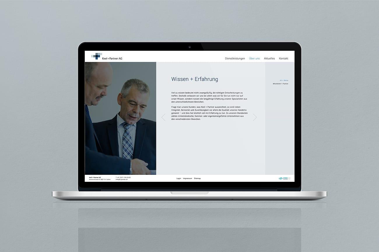Website Keel + Partner