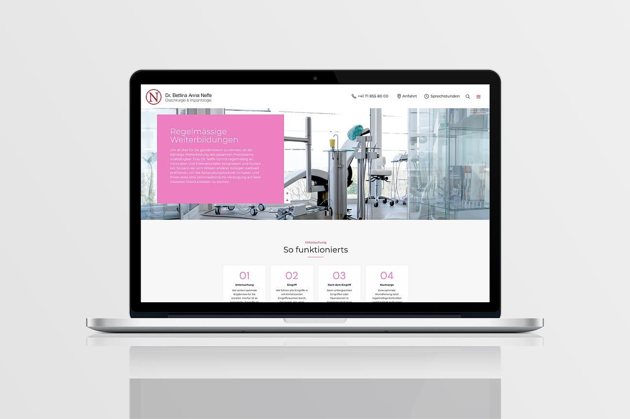 Website Praxis Dr. Neffe
