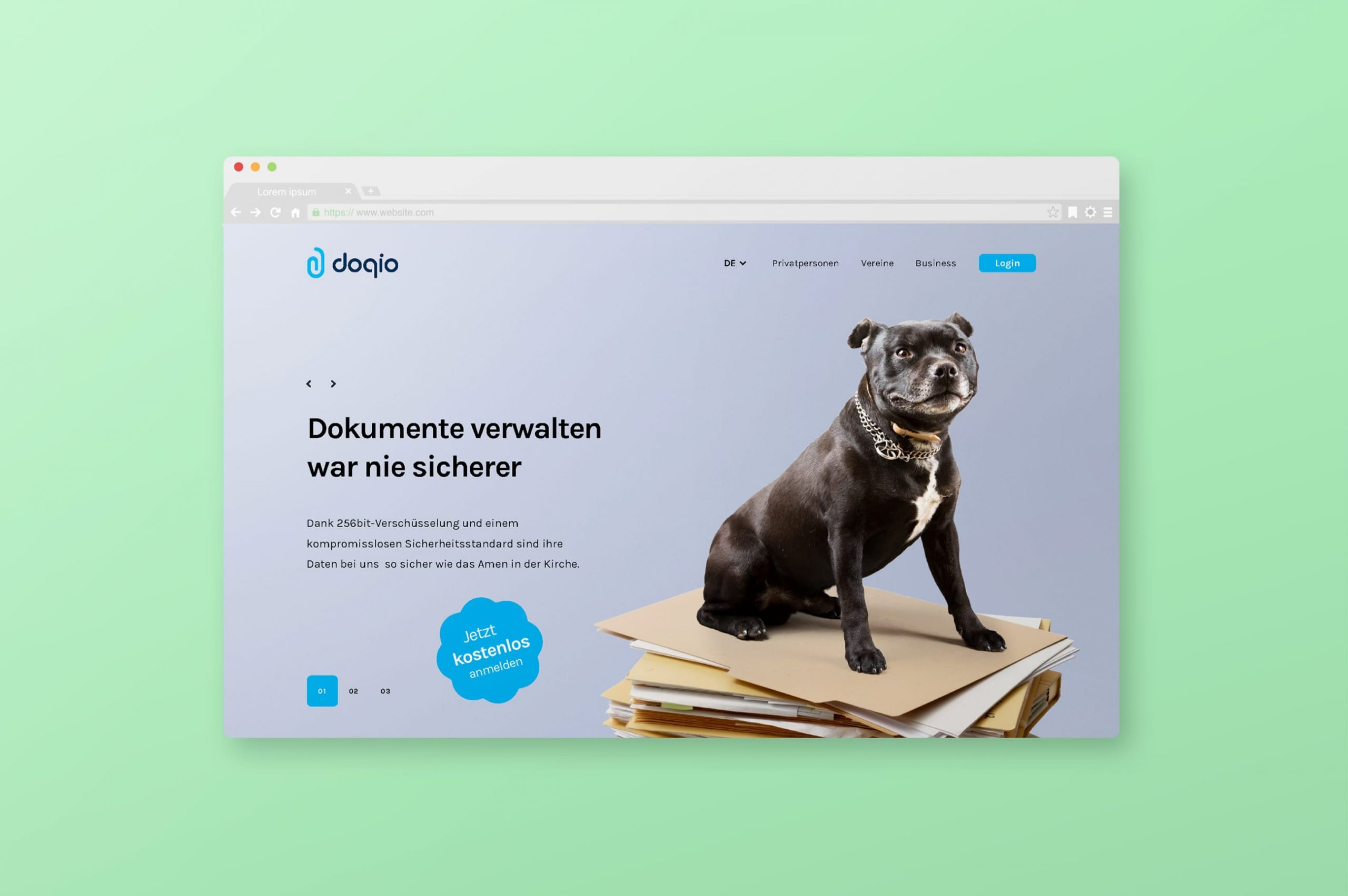 Webdesign Doqio