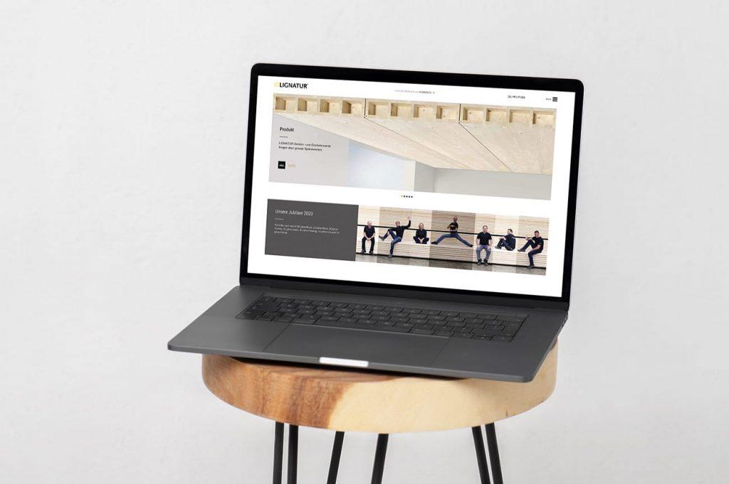 Website Lignatur AG