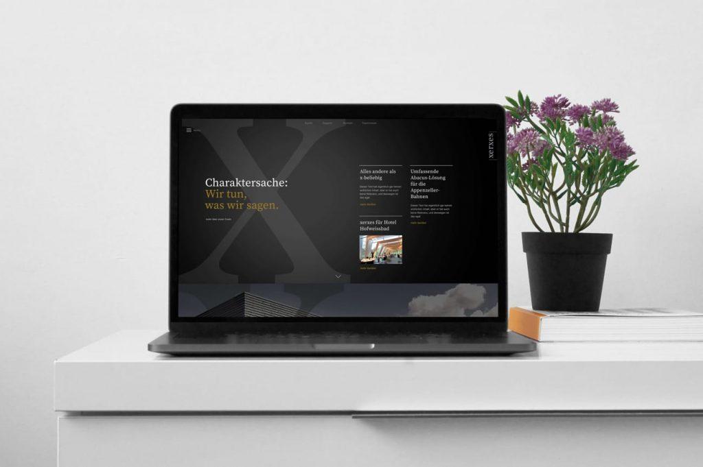 Website Xerxes AG